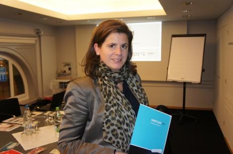 Nicole Rossi, Aussendienst Friadent Schweiz.