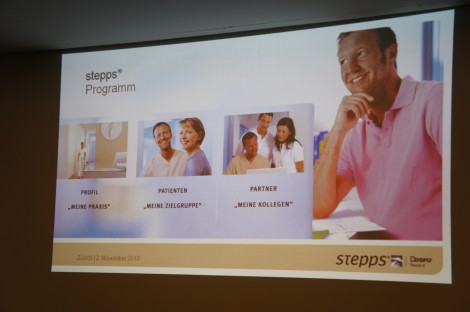 stepps Programm von DENTSPLY Friadent.