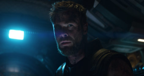 Marvel Studios' AVENGERS: INFINITY WAR..Thor (Chris Hemsworth)..Photo: Film Frame..©Marvel Studios 2018