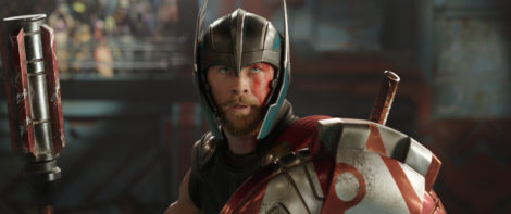 Marvel Studios' THOR: RAGNAROK..Thor (Chris Hemsworth)..Ph: Film Frame..©Marvel Studios 2017