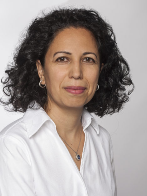 Bildinfo: Die Referentin: Prof. Dr. Anahita Jablonski-Momeni  Bildrechte: Prof. Dr. Anahita Jablonski-Momeni