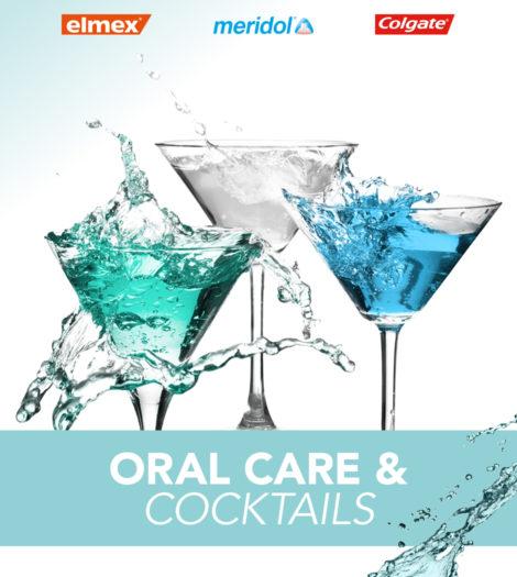 """Auch 2019 wieder im Angebot: die Reihe """"Oral Care & Cocktails"""" Bildrechte: GABA Schweiz AG"""